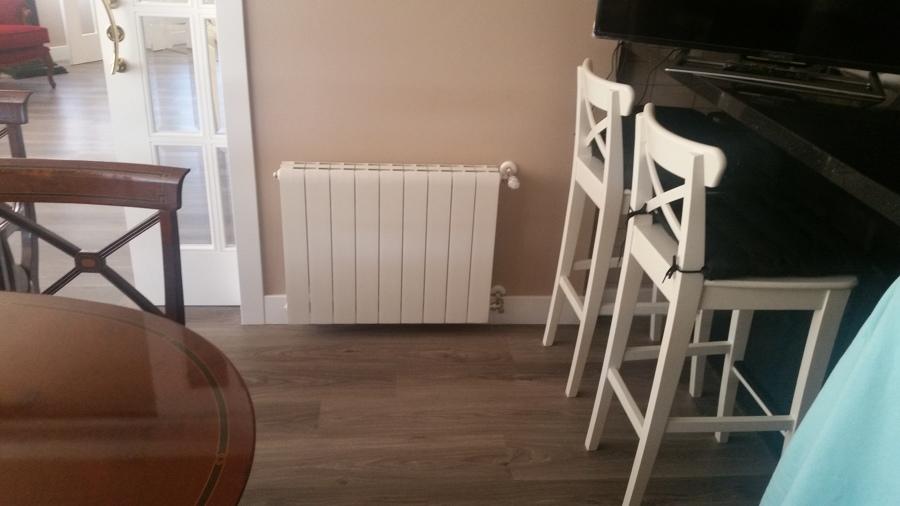 radiador en comedor