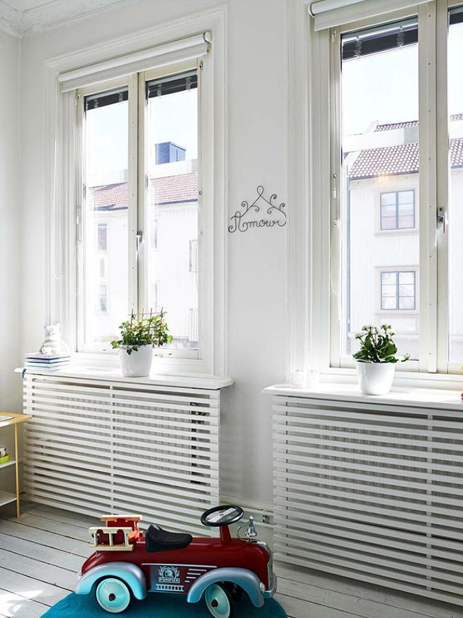 radiador salón