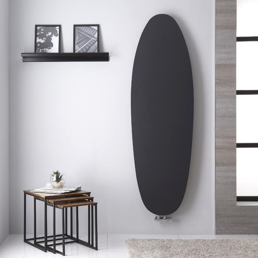 radiador vertical diseño oval Hudson Reed