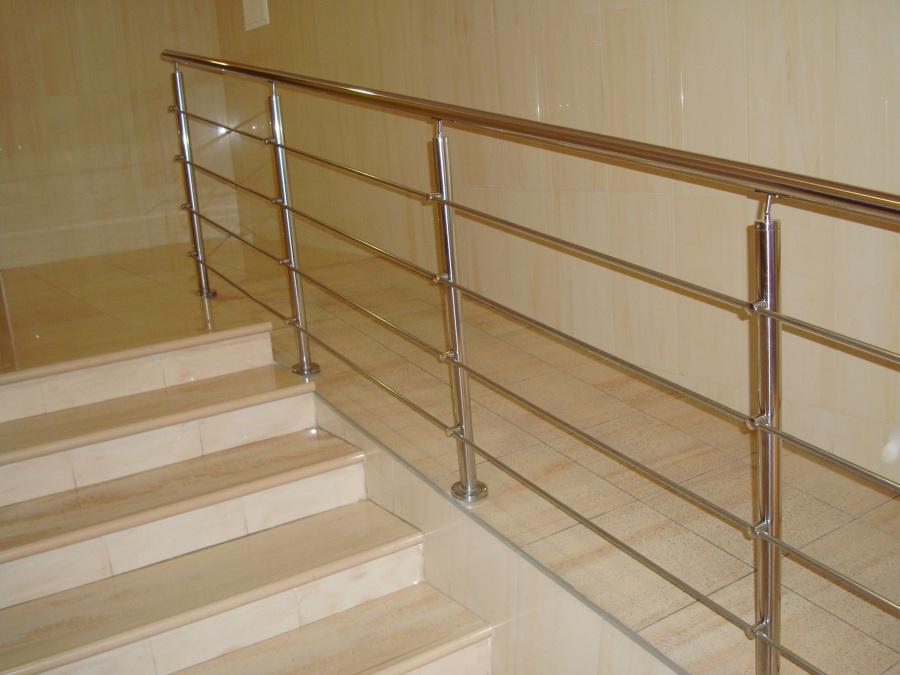 Foto rampa pelda os y pasamanos de acero inoxidable de - Pasamanos de acero inoxidable para escaleras ...