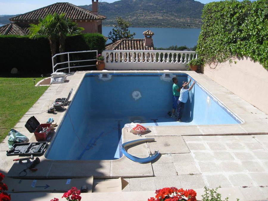 Reabilitación piscina de obra