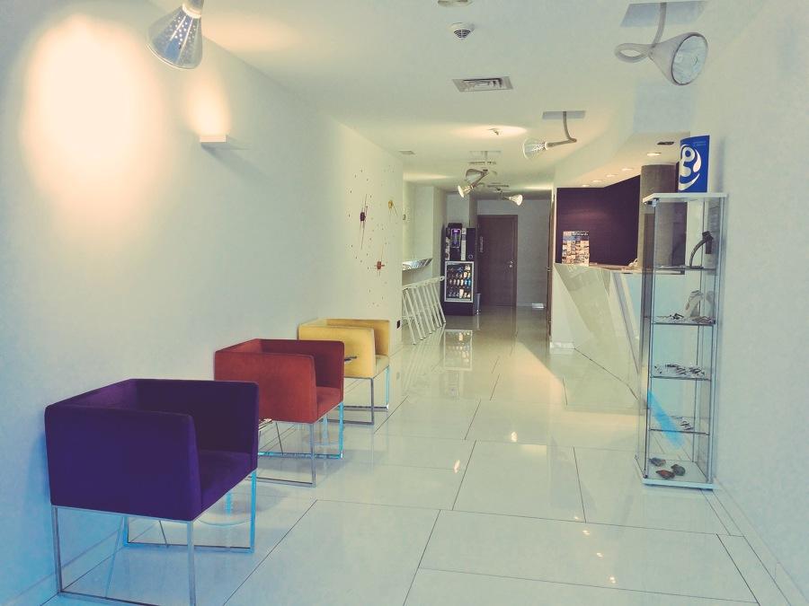 Recepción La suite Hotel