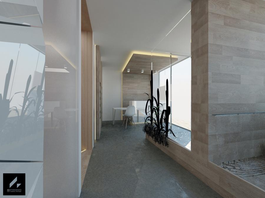 Foto recepci n y entrada de ag interiorismo 885839 - Interiorista girona ...