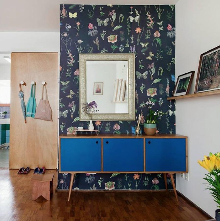 affordable recibidor con papel pintado with papel pintado recibidor - Papel Pintado Recibidor