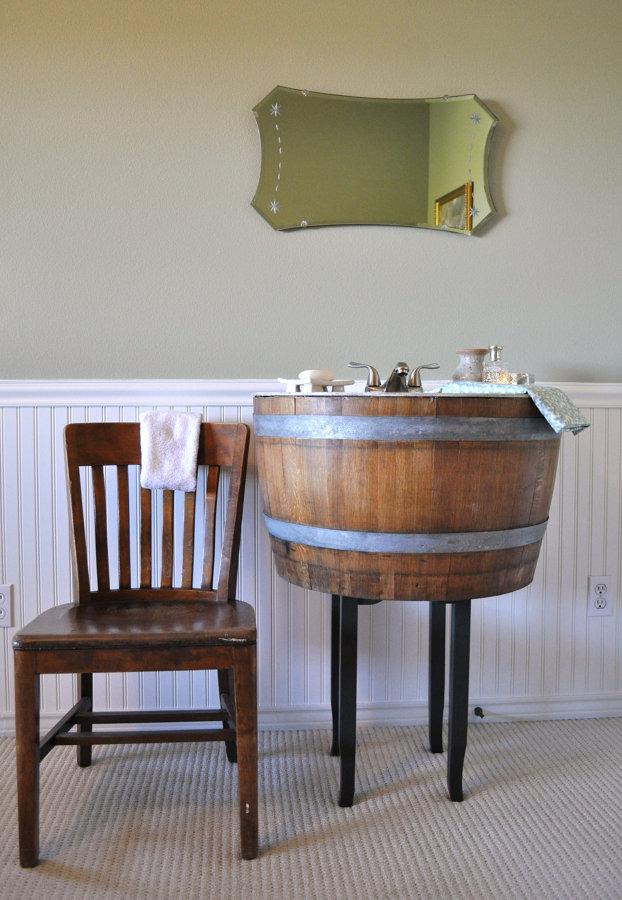 Reciclar barril de vino