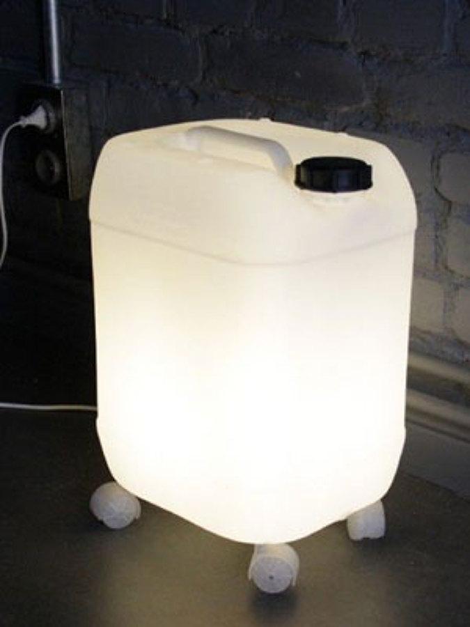 Foto reciclar lamparas de 952490 habitissimo - Lamparas las palmas ...