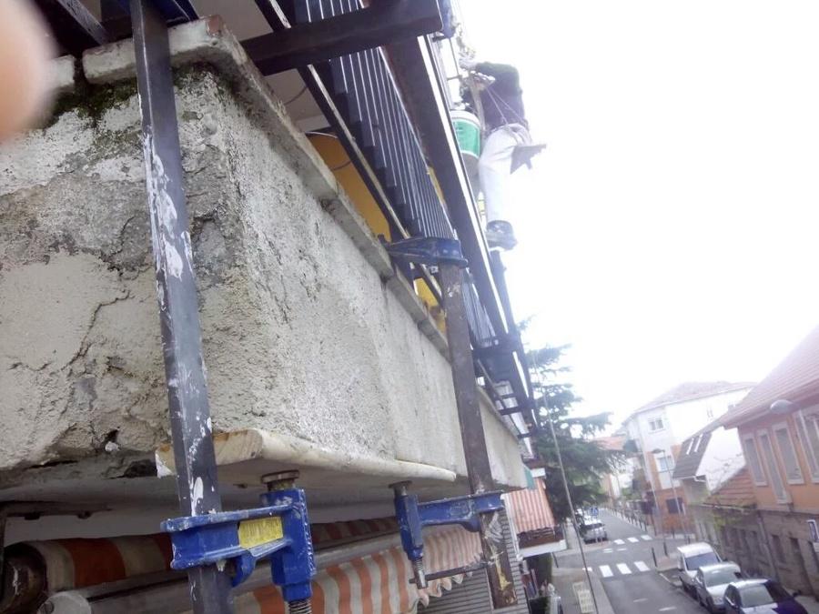 Reconstrucción de una esquina.