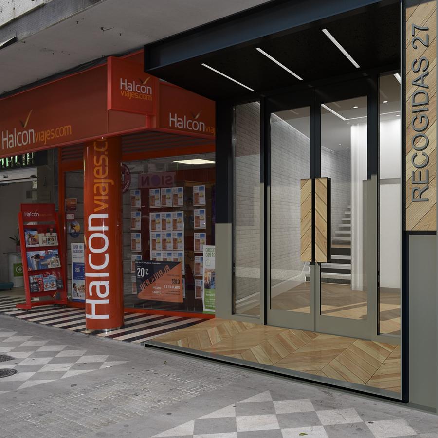 Reforma de portal y zonas comunes en granada ideas arquitectos - Arquitectos en granada ...