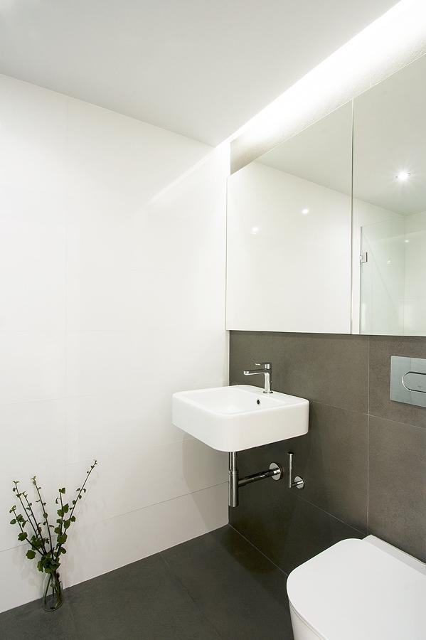 Reforma de un apartamento de 40 m2 y de estilo n rdico - Iluminacion falso techo ...