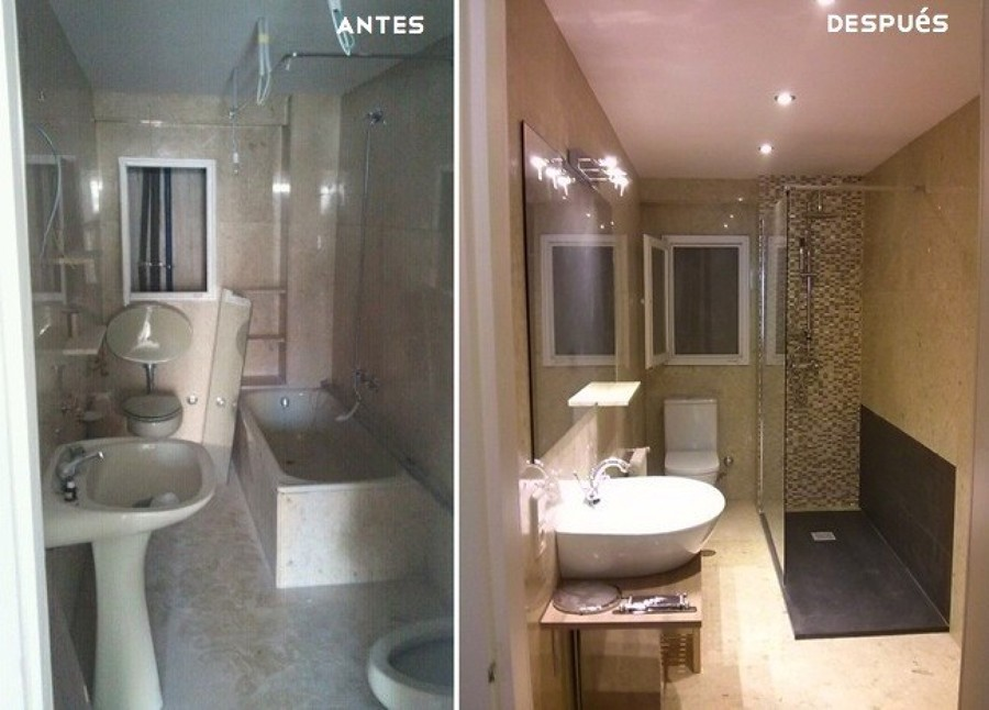 Fotos De Baos Reformados Top Beautiful Renovar El Bao Sin Obras - Baos-reformas-ideas