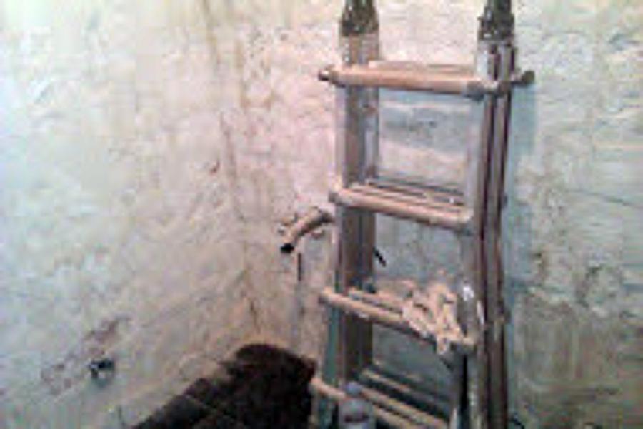 Reforma baño, Antes.