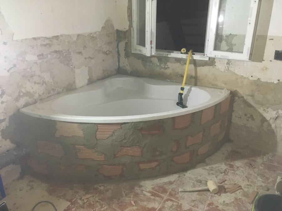 Reforma baño bañera