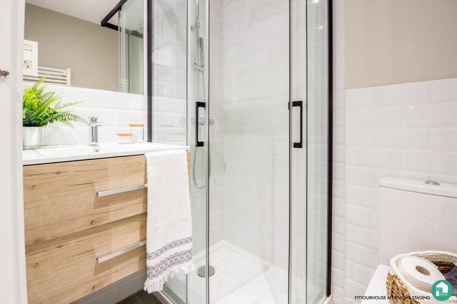 Reforma baño con Home Staging Cantabria