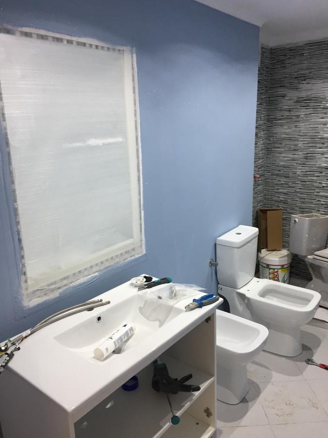 Reforma baño la cala Finestrat