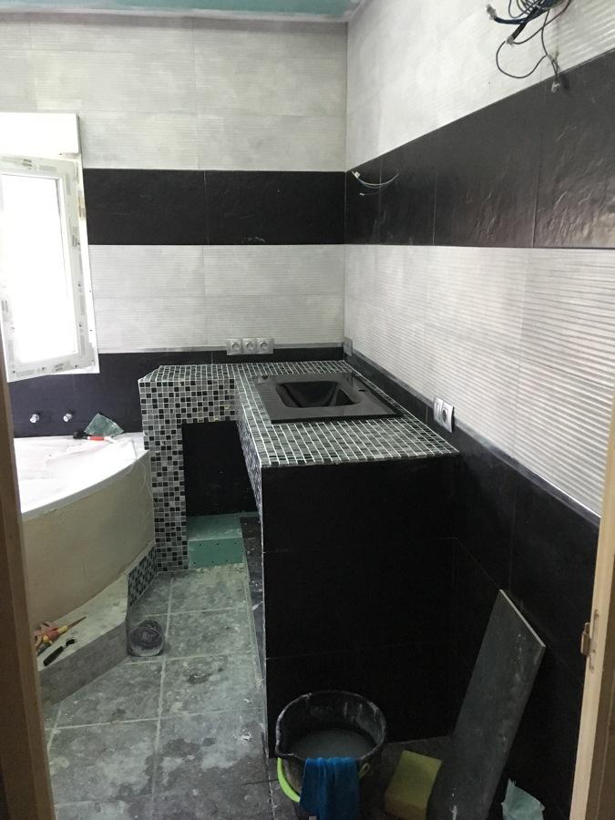 Reforma baño mueble , lavabo