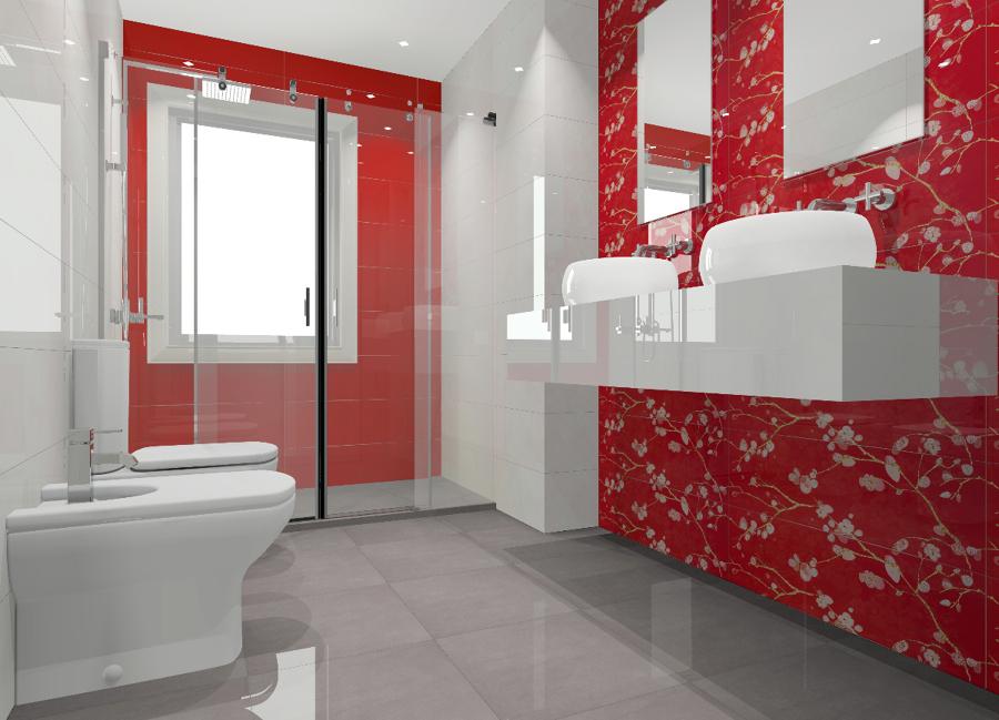 Baños Estilo Asiatico:Reforma de un baño en sevilla , de estilo asiático, cerámica de