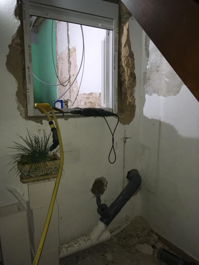 Reforma baño ventana