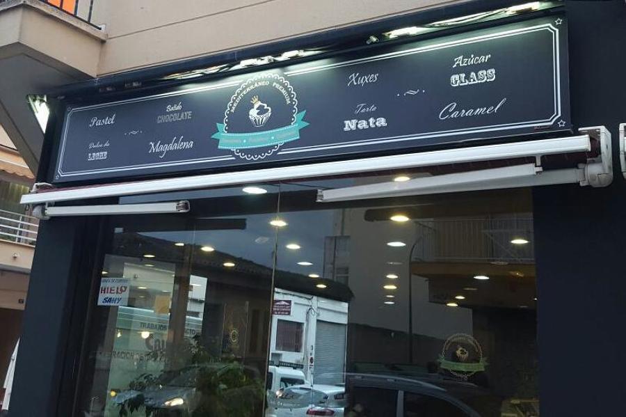 reforma cafetería mediterráneo premium para el programa cámbiame premium de telecinco