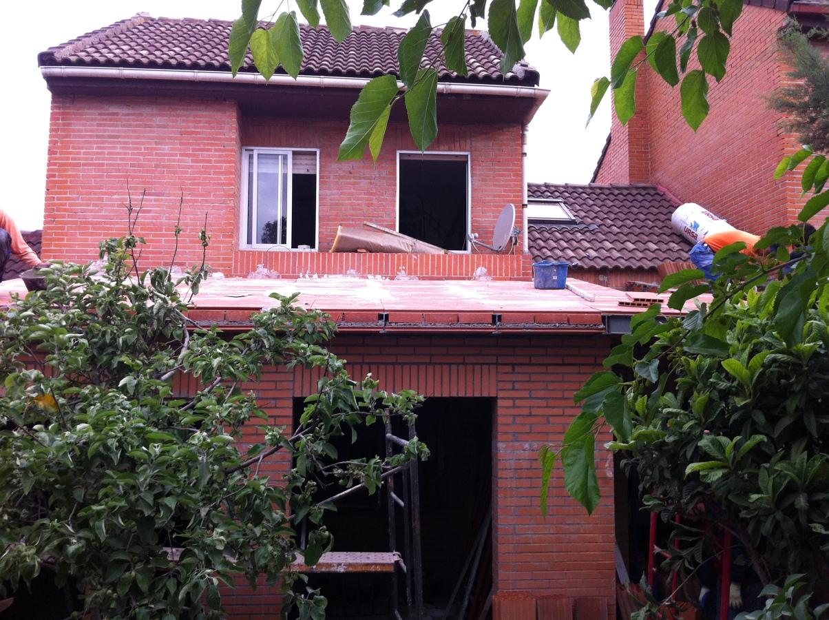 Imagen de la ampliación de la vivienda