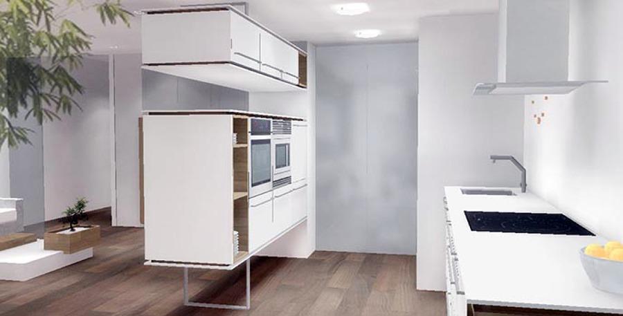 Foto reforma cocina comedor semiabierto pando valencia for Habitissimo cocinas