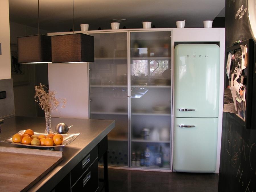 Foto reforma cocina en barcelona armarios con puertas - Armarios en barcelona ...