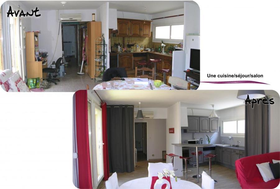 Relooking cocina tradicional ideas decoradores - Cocina salon comedor ...