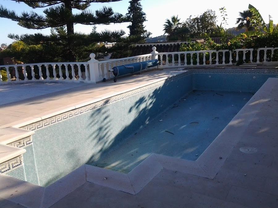Reforma completa piscina- foto diseño incial