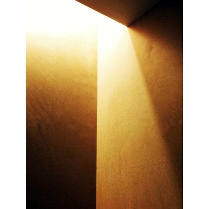 Detalle de la iluminación del baño