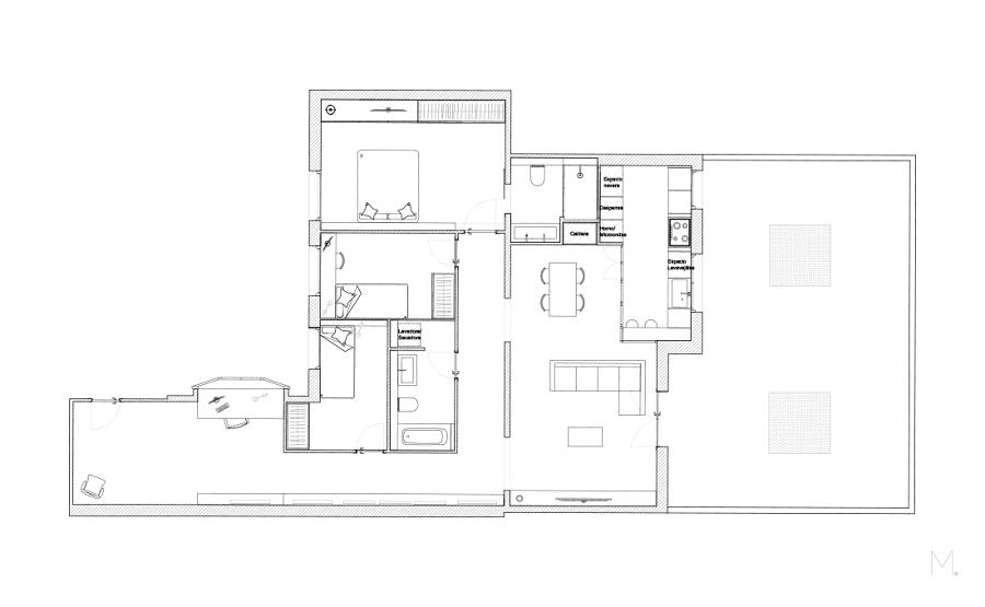 reforma de apartamento antiguo