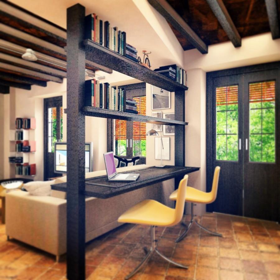 Foto reforma de apartamento en el casco antiguo de - Interiorismo granada ...