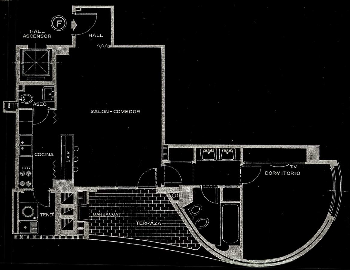 Reforma de apartamento en Madrid. Estado actual