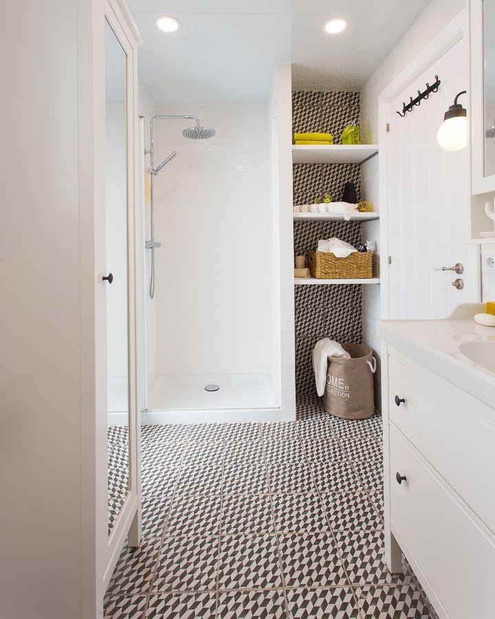 Reforma de baño con ducha y bañera