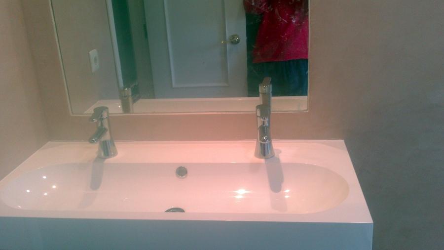Reforma Baño Con Microcemento:Reforma del Baño