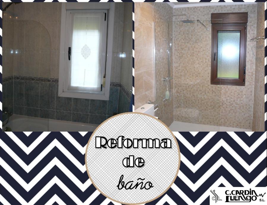 Reforma de baño vivienda en Gijón