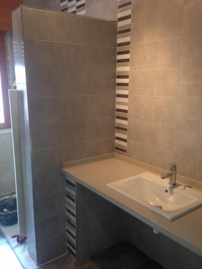 Reformas Baños Huelva:Reforma de baño estado terminado con instalación de griferías y