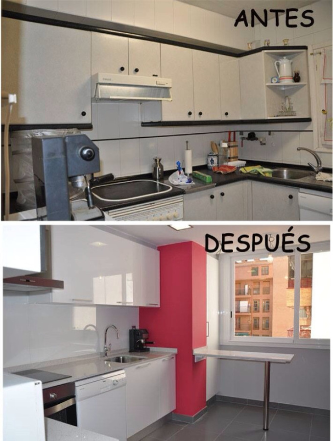 amazing reforma de cocina with cocinas reformadas - Cocinas Reformadas