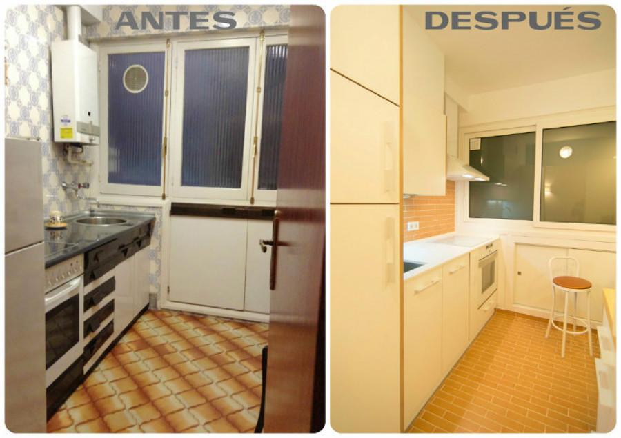 Reforma cocina sin obra finest actualizar los armarios de - Reformas de cocinas sin obras ...