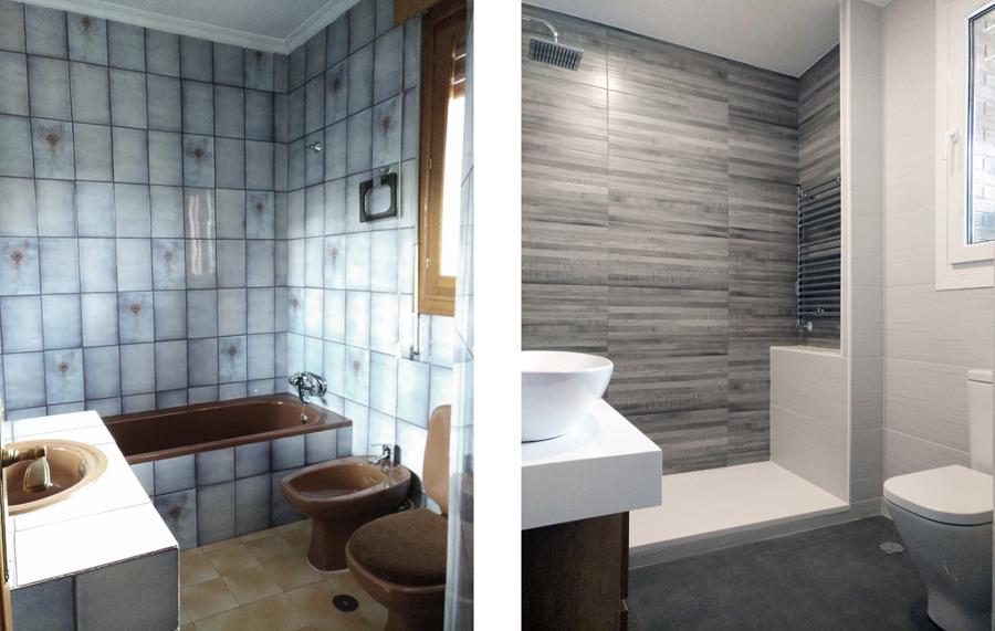 Reforma de cuarto de baño principal