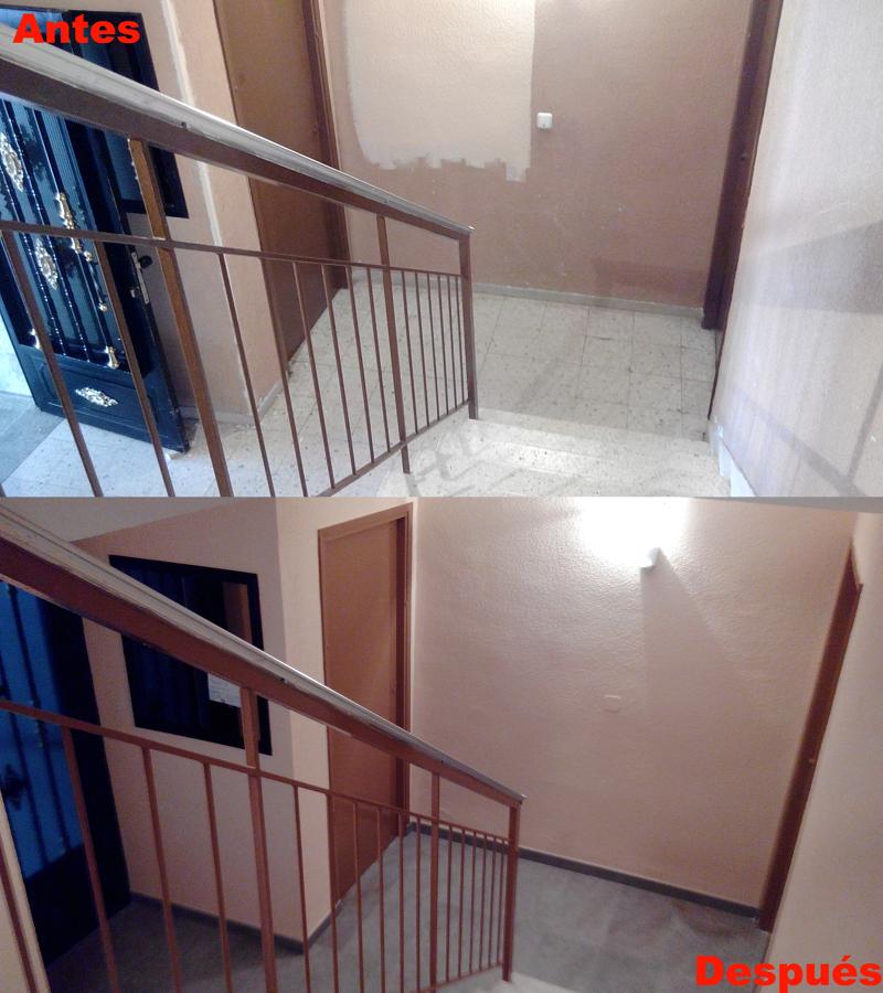 reforma de escalera de comunidad de vecinos en m stoles