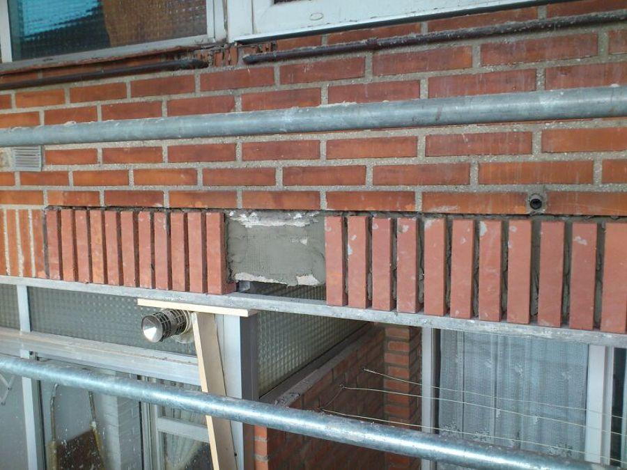 Mantenimiento y reparaci n de fachada de ladrillo visto - Precio ladrillo perforado ...