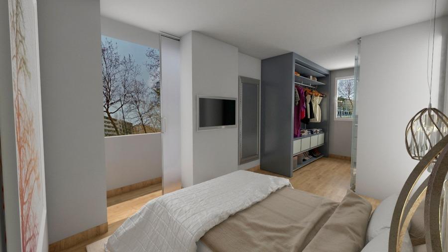 Reforma de habitación, closet y baño