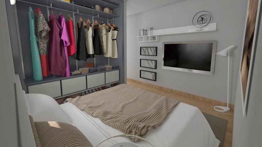 Reforma de habitación y closet