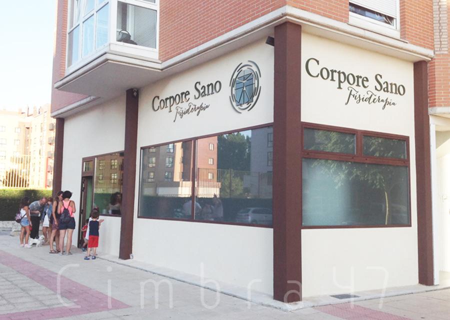 Reforma de local comercial en Burgos. Centro de fisioterapia, Corpore Sano en Burgos