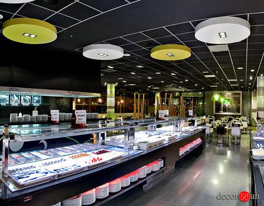 Reforma de restaurante wok en madrid