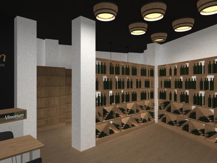 Reforma de vinoteca