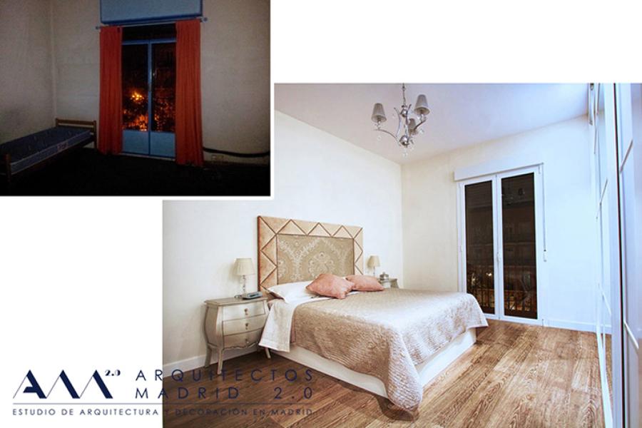 Reforma de vivienda en Madrid V-S | Arquitectos Madrid 2.0 | Antes y Después 01
