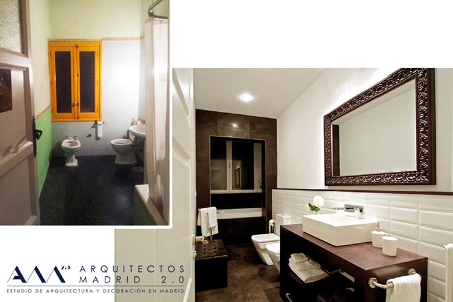Reforma de vivienda en Madrid V-S | Arquitectos Madrid 2.0 | Antes y Después 02