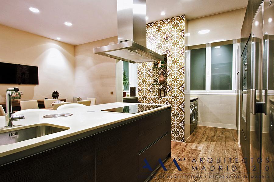 Reforma de vivienda en Madrid V-S | Arquitectos Madrid 2.0 | Cocina 03