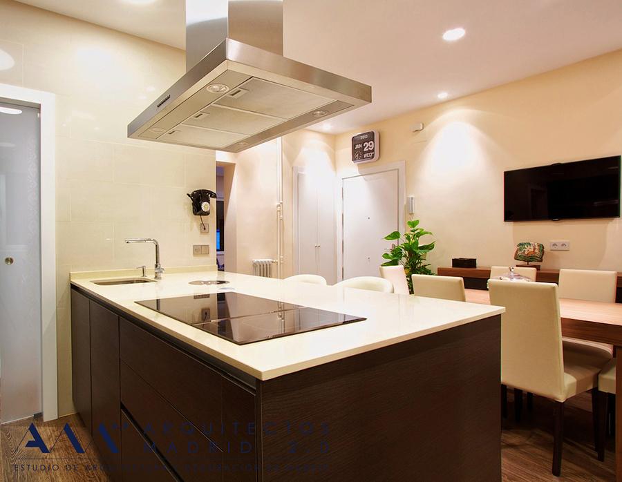 Reforma de vivienda en Madrid V-S | Arquitectos Madrid 2.0 | Cocina 07