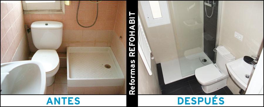 Reforma del baño principal